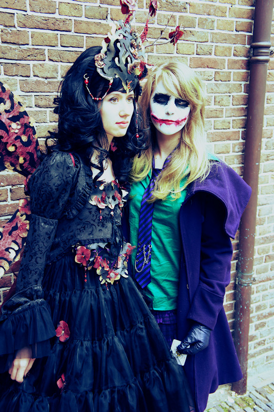 Female Joker and Elf Cosplay @ Castlefest 2012