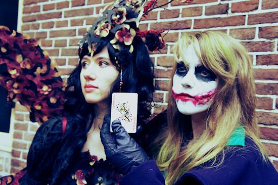 Female Joker and Elf Cosplay @ Castlefest 2012