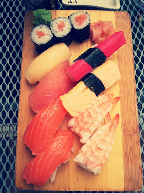 Sushi set @ Natsu Gumpendorfer Str., Wien