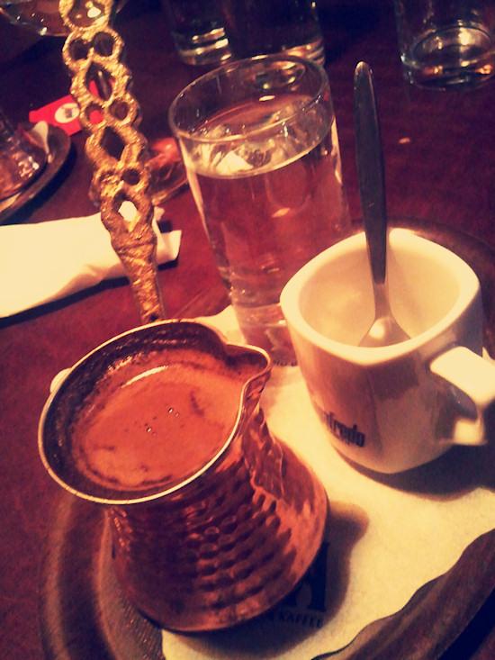 Turkish coffee, Türkischer Kaffee @ Maschu Maschu, Neubaugasse, Wien