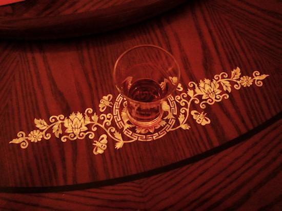 Plum wine, Pflaumenwein @ Asian Restaurant Li-Li, Wien