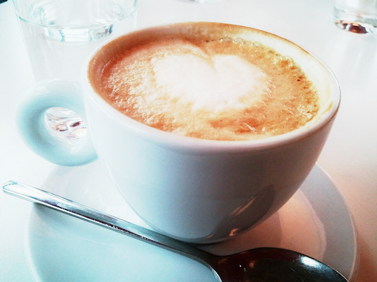 Cappuccino @ Vapiano Wien Westbahnhof