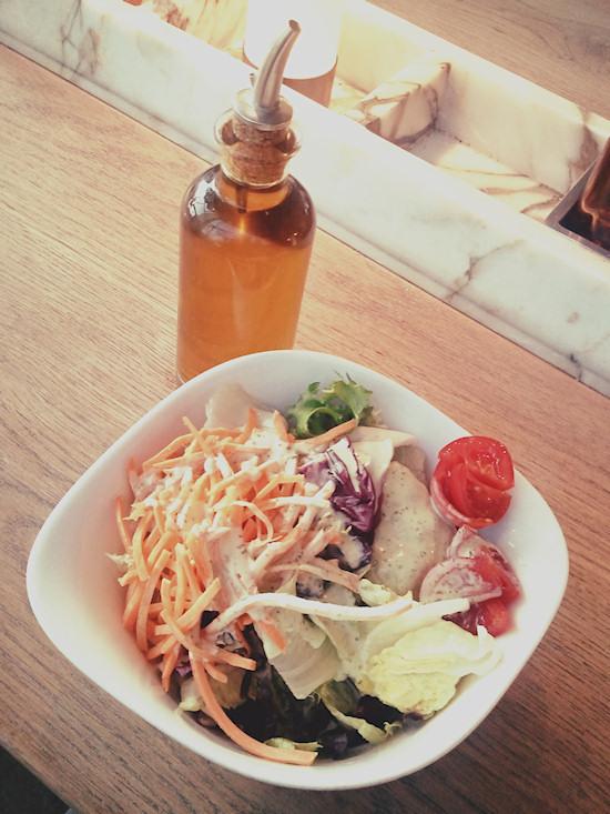 Mixed salad @ Vapiano Wien Westbahnhof