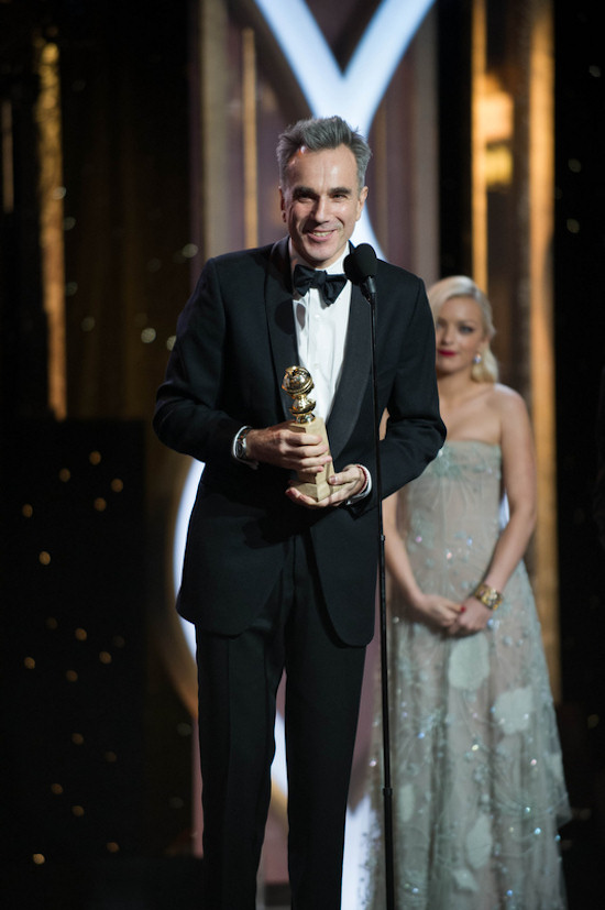 Golden Globes 2013: Daniel Day-Lewis