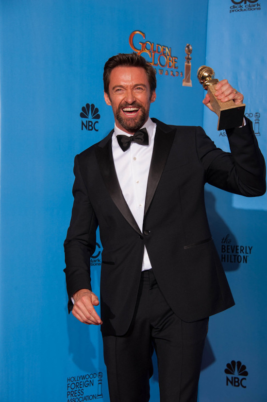 Golden Globes 2013: Hugh Jackman