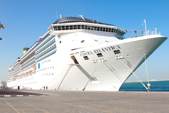 Italian cruise ship Costa Atlantica