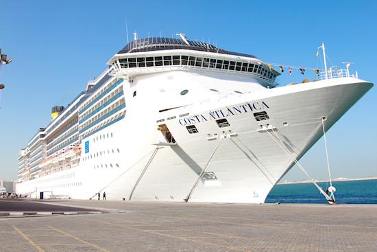 Italian cruise ship Costa Atlantica