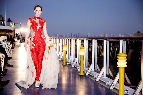 Fashion Show by Vietnamese Designer Hoang Hai on Costa Atlantica