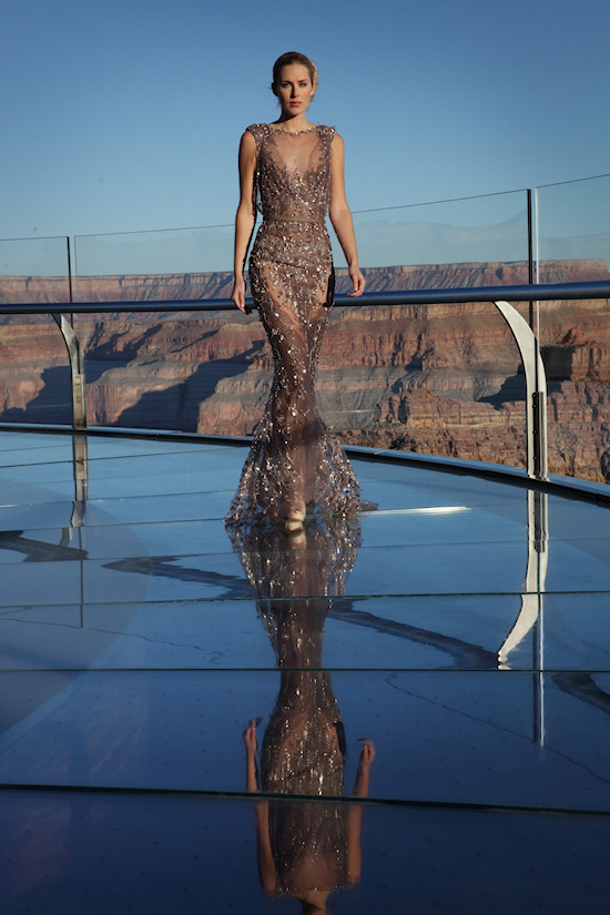 Fashion Show Ziad Nakad on the Grand Canyon Skywalk