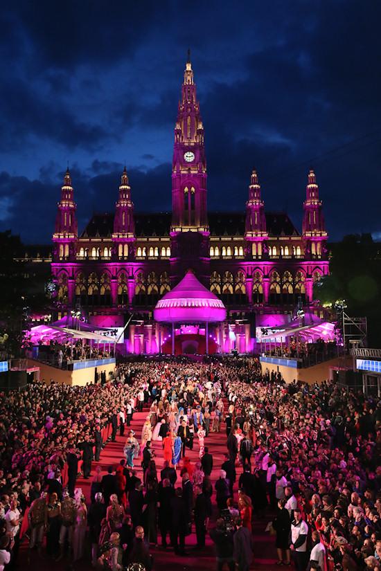 Life Ball 2013: Vienna City Hall, Wien Rathaus