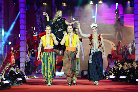 Life Ball 2013: Roberto Cavalli Fashion Show
