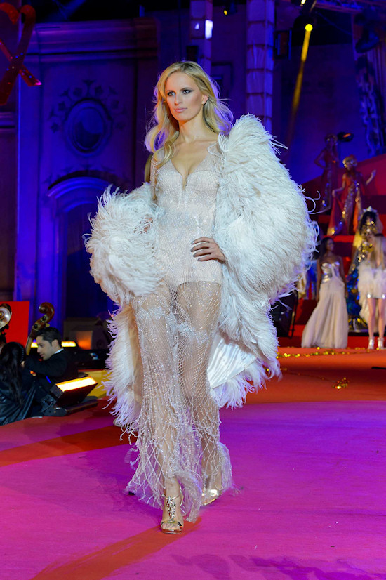 Karolina Kurkova @ Life Ball 2013: Roberto Cavalli Fashion Show