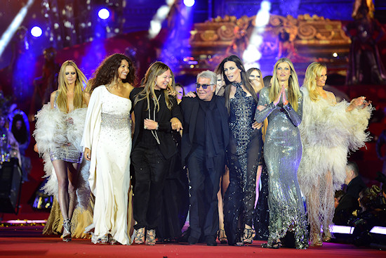 Roberto Cavalli and Eva Cavalli @ Life Ball 2013: Roberto Cavalli Fashion Show