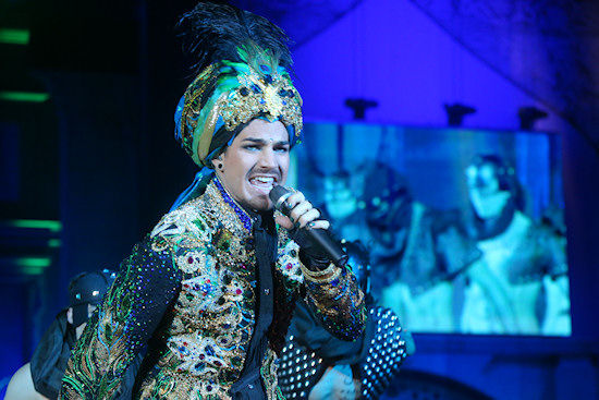Adam Lambert performing Ali Baba Superstar @ Life Ball 2013