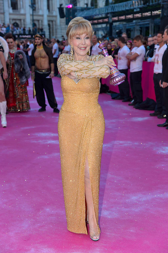 Barbara Eden @ Life Ball 2013 Magenta Carpet