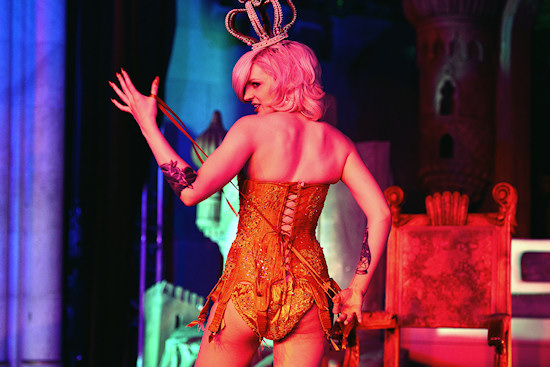 Burlesque Performance @ Life Ball 2013