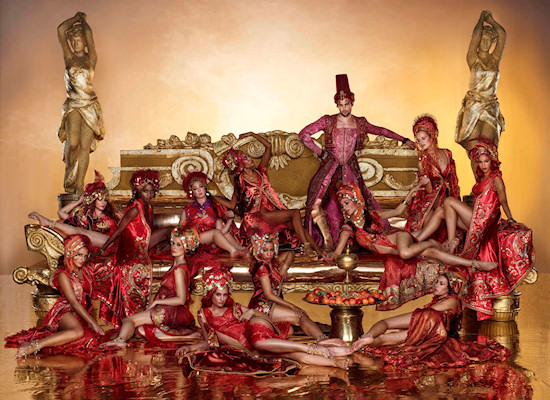 Life Ball 2013 Style Bible: The Vizier and his Harem // Arabian Nights