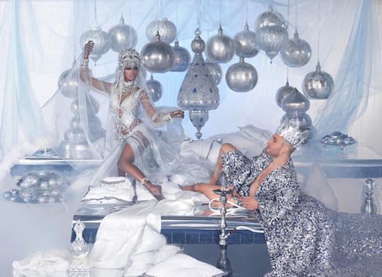 Life Ball 2013 Style Bible: Shahriyar & Scheherazade // Models Sara Nuru and David Singhania // Arabian Nights
