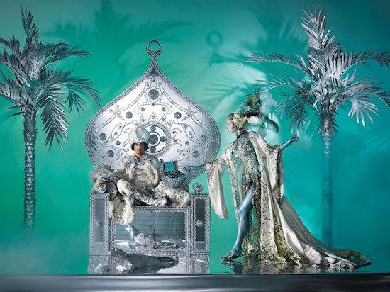 Life Ball 2013 Style Bible: Dschullanar // The Princess Of The Sea // Arabian Nights
