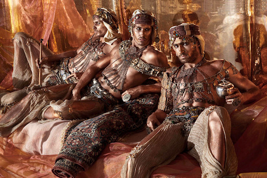 Life Ball 2013 Style Bible: The Three Brothers // Arabian Nights