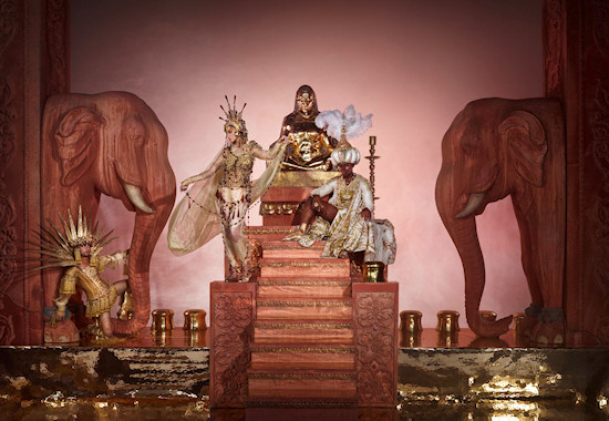 Life Ball 2013 Style Bible: Prince Ali of Persia & Schamsannahar // Arabian Nights