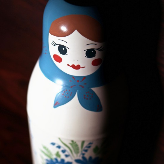 Soviet Matroyshka Thermos Bottle Doll (Матрёшка)