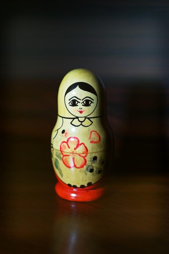 Soviet Matroyshka Outermost Mother Doll (Матрёшка)