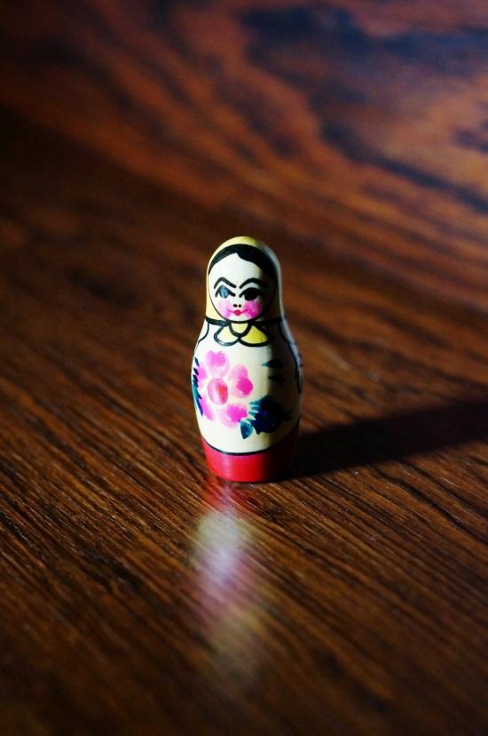 Soviet Matroyshka Baby Doll (Матрёшка)