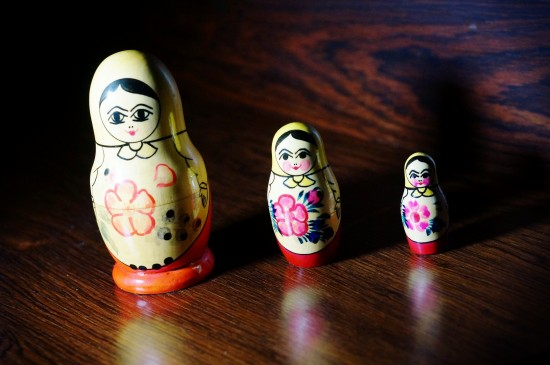 Soviet Matroyshka Dolls (Матрёшка)
