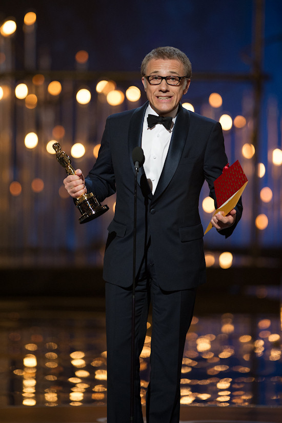 Christoph Waltz @ Oscars 2013