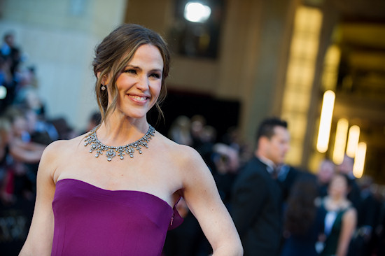 Jennifer Garner @ Oscars 2013 Red Carpet