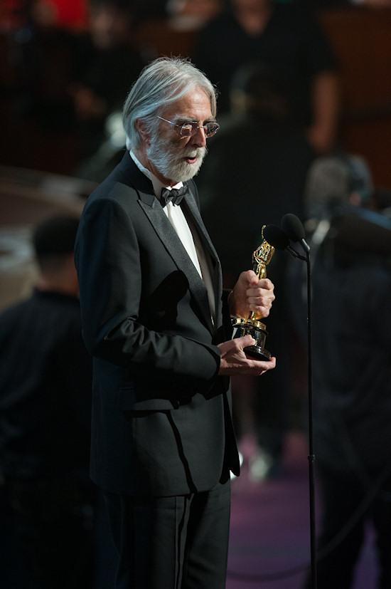 Michael Haneke @ Oscars 2013