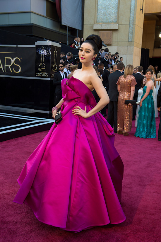 Fan Bingbing @ Oscars 2013 Red Carpet