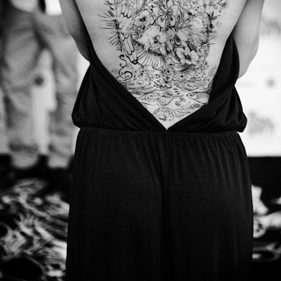 Tattoo Models PayLife Black @ Vienna Fashion Week 2013