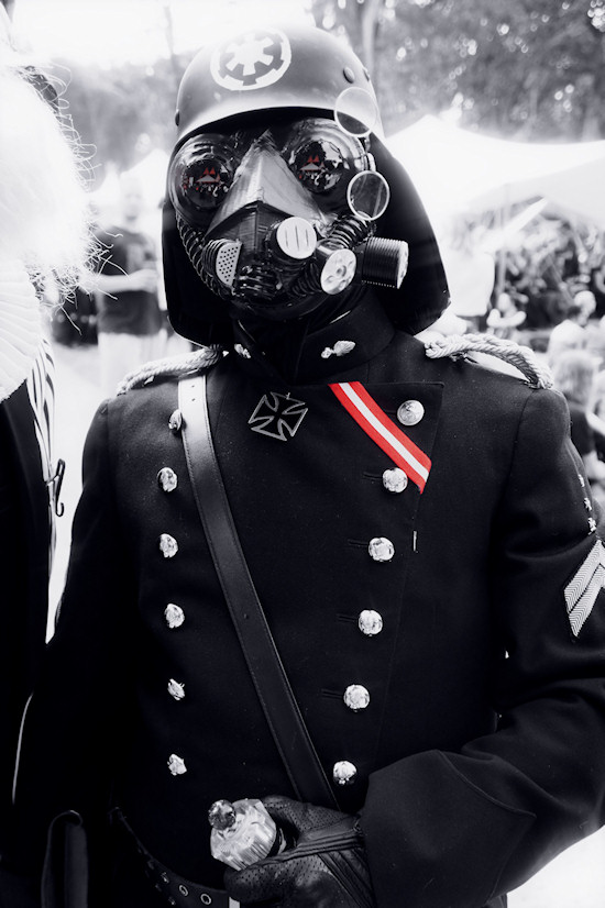 Iron Sky inspired Darth Vader outfit @ Castlefest