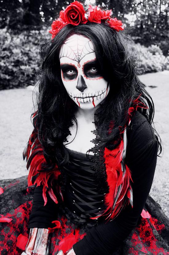 Nightmare before Christmas vampire @ Castlefest