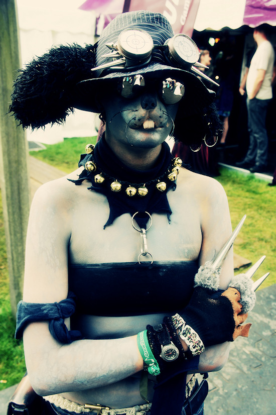 Steampunk squirrel @ Castlefest