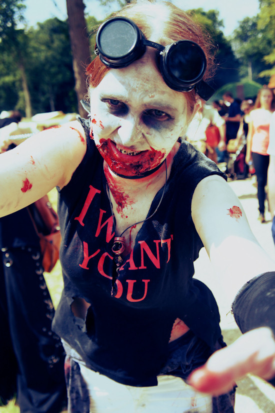 "Zombie ""I Want You"" @ Castlefest"