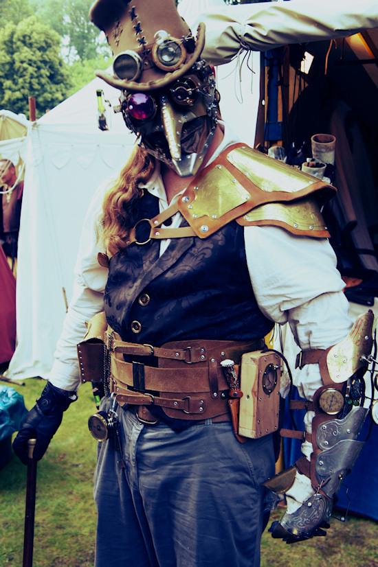 Steampunk scarecrow @ Castlefest
