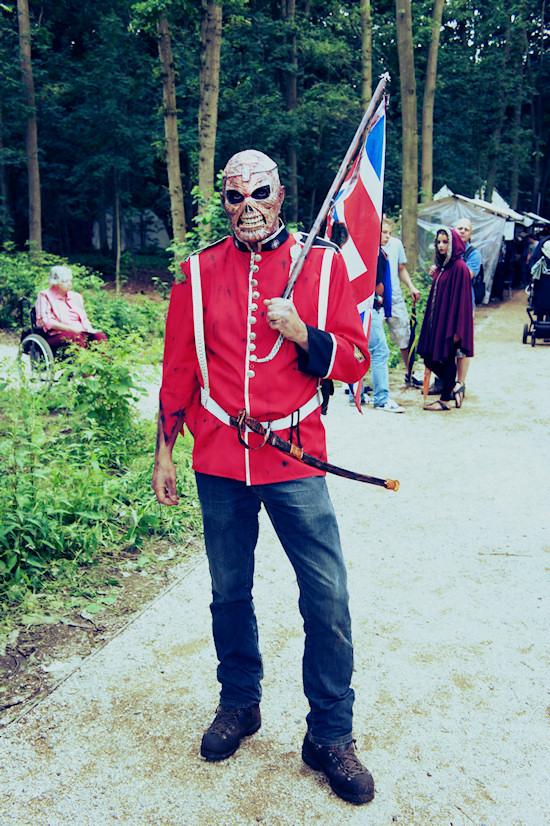 British zombie @ Castlefest