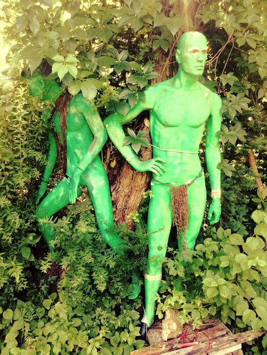 Male Manneqins @ Secret Garden Kahlenberg Wien