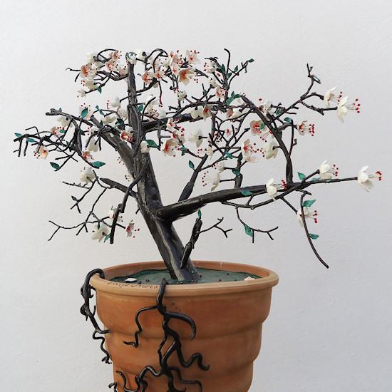 Shadow Art by Teodosio Sectio Aurea: magic wireframe tree