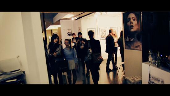 """Exhibition """"ohne"""" by Mato JohannikShowroom @ Vienna Fashion Week 2013"""