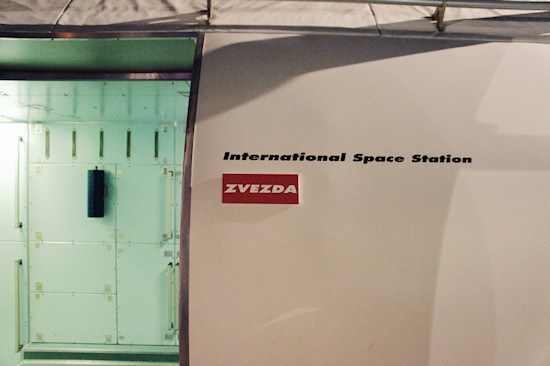 Replica of the Russian Zvezda ISS module @ Space Expo Noordwijk, the Netherlands