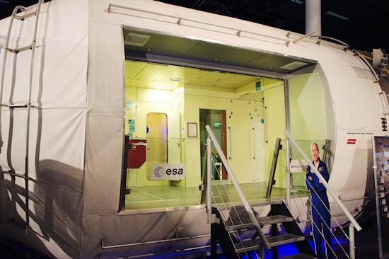 Replica of the Russian Zvezda ISS module @ Space Expo Noordwijk, the Netherlands