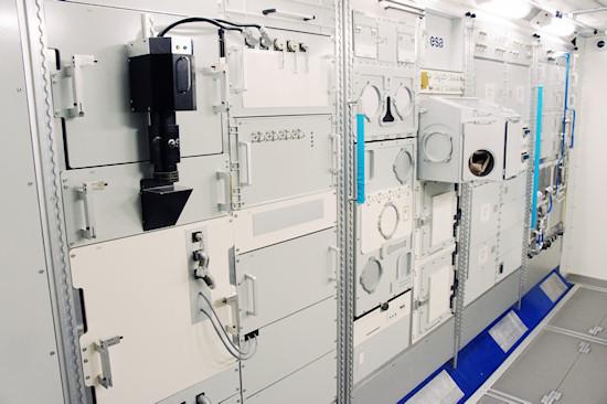 Replica of the European Columbus ISS module @ Space Expo Noordwijk, the Netherlands