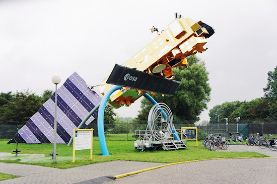 ESA Satellite @ Space Expo Noordwijk, the Netherlands