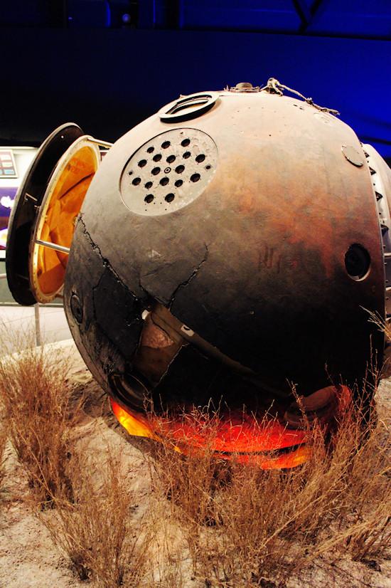 USSR Vostok 1 capsule @ Space Expo Noordwijk, the Netherlands