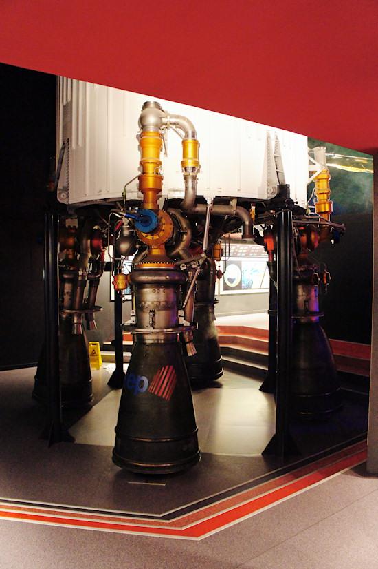 ESTEC rocket engine @ Space Expo Noordwijk, the Netherlands