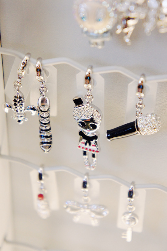 Swarovski Charms @ Swarovski Shop in Amsterdam. Dam Square 6.